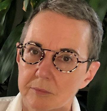 Close up of Lynda Jessup