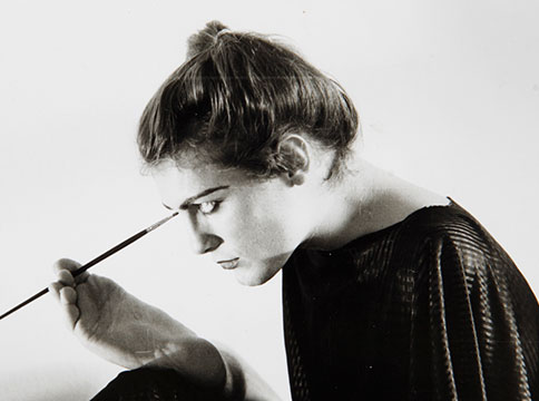 Lorenza Böttner self portrait