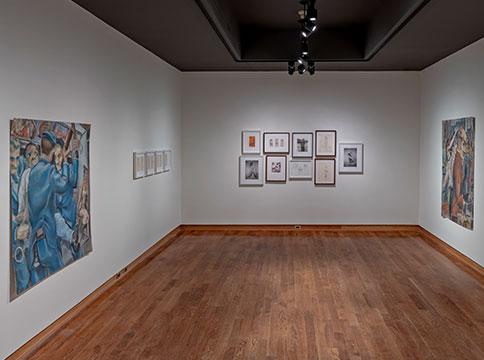 Gallery view of Lorenza Böttner's exhibition